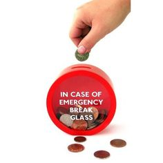 Suck UK Emergency Money Box ($9.72)