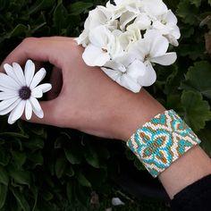 Miyuki jewellery, peyote, orhndesign,