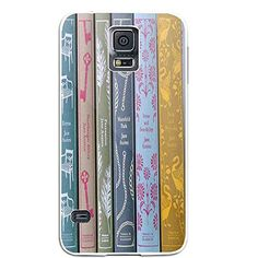 Jane Austen Books for Iphone and Samsung Galaxy Case (Sam…