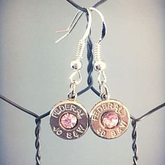 Stunning bullet dangle earrings **FREE SHIPPING** enjoy!! :)