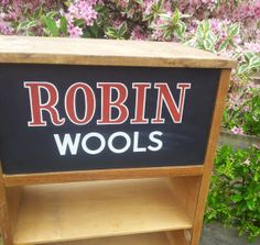 Vintage shop Fitting Wooden Shelves Robin Wools by PaintedSongbird, £80.00