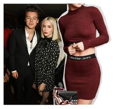 """""""another man launch with Harry and Gemma"""" by dipx1d ❤ liked on Polyvore featuring Payne, Calvin Klein, Balenciaga, Laura Geller and Gianvito Rossi"""