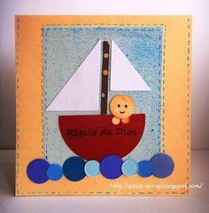 Silvia Scrap: Tarjetas para bebes