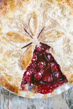 #Kuchen #Kirschen