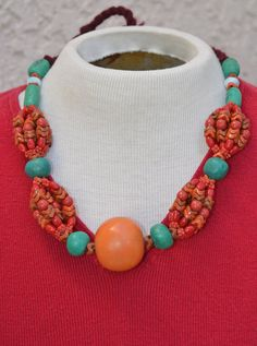 A Necklace Today - Ecochic Shop of the Day - HighClassHighway by Leora Pevear on Etsy