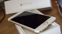 iPhone 6! Wanted the rose gold @ first, but now I want the gold