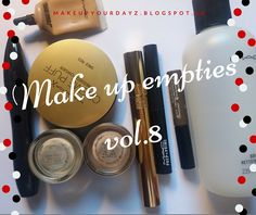 make up your dayz: Make up empties vol.8