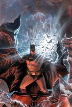 Batman & Batcaverna de Alex Ross.