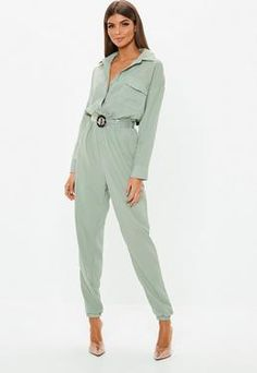 Up your jumpsuit game with hundreds of styles and finishes for any occasion. Explore our women's jumpsuit collection now for a super effortless look. Overall, Spring Colors, Jumpsuits For Women, Color Trends, New Outfits, Going Out, Duster Coat, Khaki Pants, Fashion Styles