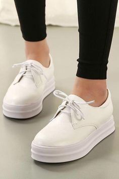 Clean White Sneakers for a polished look.