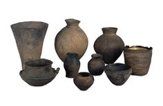 Group of Jômon pottery  © The Trustees of the British Museum From Japan, Early Jômon period Skill in pottery has been an important defining aspect of Japanese culture from earliest time; pottery fragments from a cave-dwelling at Fukui near Nagasaki date from 10,000 BC, and are believed to be the oldest yet discovered anywhere in the world.
