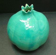 Clay Judaica Jewish Pomegranate table decoation