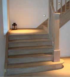 Interior Staircase, Wood Staircase, Stairs, Zen House, Cosy House, Love Your Home, My Dream Home, Cottage Shabby Chic, Barn Renovation