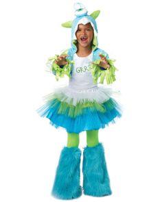 grrrr monster girls costume