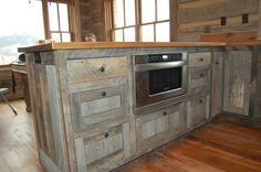 Recycled Wood Kitchen Cabinets | ... Colorado kitchen design & Cabinetry - Custom Built Kitchen Cabinets