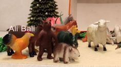 Animal Toys Collection with Sounds Effects