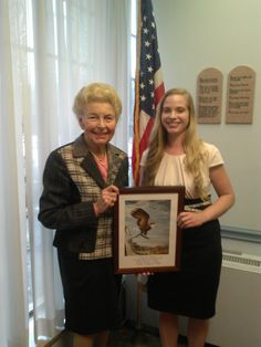 Phyllis Schlafly and Rebekah Gantner