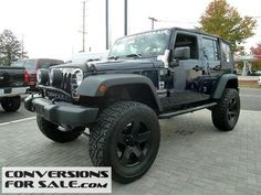 2013 Jeep Wrangler Unlimited Sport Lifted