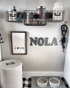 Home Decoration Ideas Bedrooms Spoiled Dog Station Farmhouse Style Doggy Station Dog Food.Home Decoration Ideas Bedrooms Spoiled Dog Station Farmhouse Style Doggy Station Dog Food Animal Room, Dog Room Decor, Pet Decor, Bedroom Decor, Dog Station, Dog Feeding Station, Dog Bedroom, Puppy Room, Dog Spaces