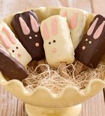 Easter Bunny Pops