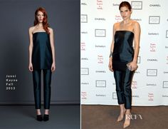 Lake Bell In Jenni Kayne – 2013 'Take Home A Nude' Benefit Art Auction And Party