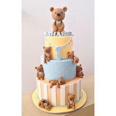 Teddy Bear Cake                                                       …