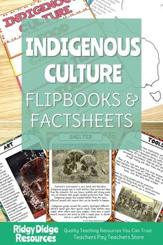 This activity bundle, great for inclusion in NAIDOC week and Reconciliation Week activities, is jam-packed with quality resources that will support you in teaching your students about Australian Aboriginal and Torres Strait Islander history and culture without having to leave your classroom! The Flipbook, worksheets and fact sheets provided will assist your students in exploring this topic while keeping them engaged and reflective upon the impact of European settlement. Aboriginal Education, Indigenous Education, Aboriginal History, Aboriginal Culture, Steam Education, History Education, Teaching Schools, Teaching Resources, Naidoc Week Activities