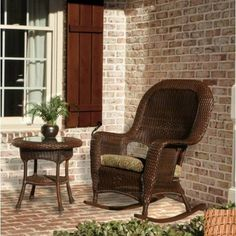 Tortuga LEX-RT1 -M Lexington Rocker and Table Bundle Set - Mojave by Tortuga. $679.05. 100% Spun polyester cushions.. Unlike natural wicker, Tortuga's all weather wicker is stain, water, UV, crack. Powder coated aluminum frames.. Mildew and fade resistant fabric.. Includes: (1) Rocking Chair and (1) Side Table.. The Lexington Collection is defined by its elegant traditional design, plush deep seating comfort, and rugged all-weather durability. This broad array...