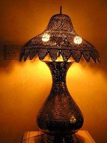 Сирийский Турецкий проколол латунный светильник