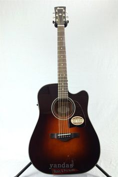 Ibanez AW4000CEBS Artwood Series Acoustic-Electric Guitar