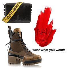A fashion look from May 2017 featuring platform boots, patent leather purse and maybelline lipstick. Browse and shop related looks. Maybelline, Off White, Hiking Boots, Polyvore, How To Wear, Shoes, Fashion, Accessories, Moda