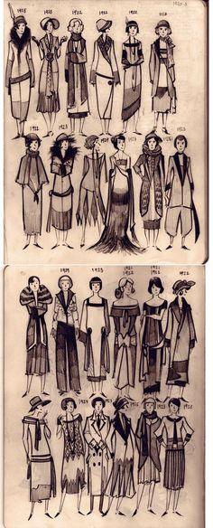 Мода 1920 г.