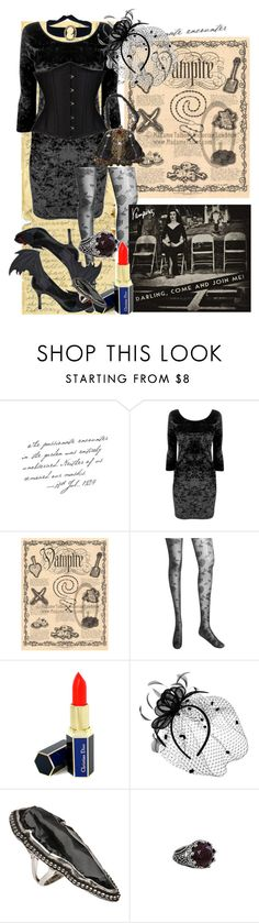 """""""Gothic, darling"""" by mademoisellevampire ❤ liked on Polyvore featuring Forever 21, Christian Dior, Cameo, Pamela Love and Lucky Brand"""