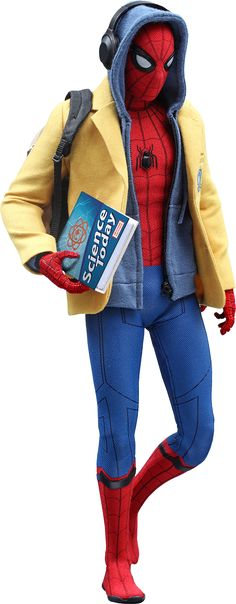 Hot Toys Marvel Spider-Man Deluxe Version Sixth Scale Figure by Hot T | Sideshow Collectibles