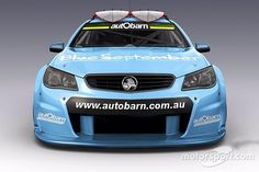 Triple Eight Race Engineering Sandman car. Photo by Press Image on September 2015 at Charity launch of the Sandman Supercar. Browse through our high-res professional motorsports photography Chevy Ss, Chevrolet Ss, Chevy Impala, Australian Muscle Cars, Aussie Muscle Cars, Pontiac G8, Chevrolet Lumina, V8 Supercars, Holden Commodore