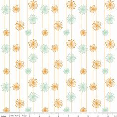Good Natured Dandelion Cotton Fabric by Marin Sutton for Riley Blake Designs BTY by HouseOfJdawn on Etsy