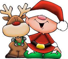dibujos navidad color