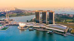 I pannelli galleggianti italiani, primo esperimento a Singapore #energYnnovation #acqua