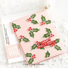 The Stamp Market ( Cas Christmas Cards, Happy Merry Christmas, Christmas Crafts, Christmas Ideas, Christmas Wishes, Cute Envelopes, Holiday Icon, Paper Cards, Cards Diy