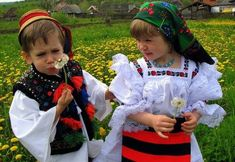 children in folk costumes Folk Costume, Costumes, Visit Romania, City People, The Beautiful Country, Beautiful Places To Visit, Blouse, Harajuku, Cool Photos