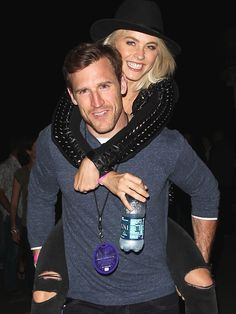 Julianne Hough Is Engaged to Hockey Player Brooks Laich! See the Happy Couple Embrace Julianne Hough Brooks Laich, Derek And Julianne Hough, Derek Hough, Julianne Hough Boyfriend, Celebrity Weddings, Celebrity News, Ryan Seacrest, Fashion Idol, People News