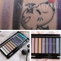 Makeup revolution essential day to night palette swatches