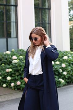 Style...Anna Rike //  white shirt from MEKKDES