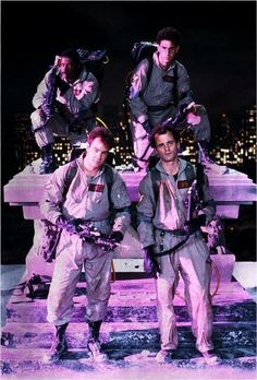 Promotional shot from Ghostbusters