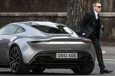 Aston Martin DB10 Fleet in James Bond 007 Spectre Filming