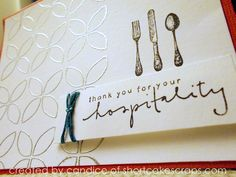 The perfect way to thank someone for that wonderful meal! www.shortcakescraps.com