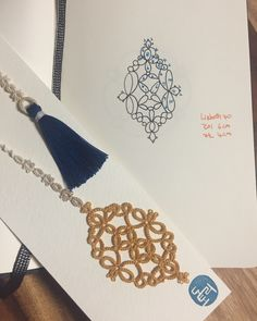 자작 책갈피6 #bookmark #tattinglace #do_tori #책갈피