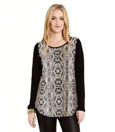 Karen Kane Snake Print Top Makes a Statement! – Wear Us Out Boutique
