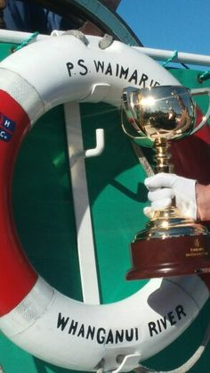 The Melbourne Cup in Wanganui aboard the Paddlesteamer 'Waimarie'. Photo Kylie Wetherall