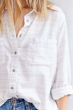 BDG Bobby Flannel Button-Down Shirt - Urban Outfitters